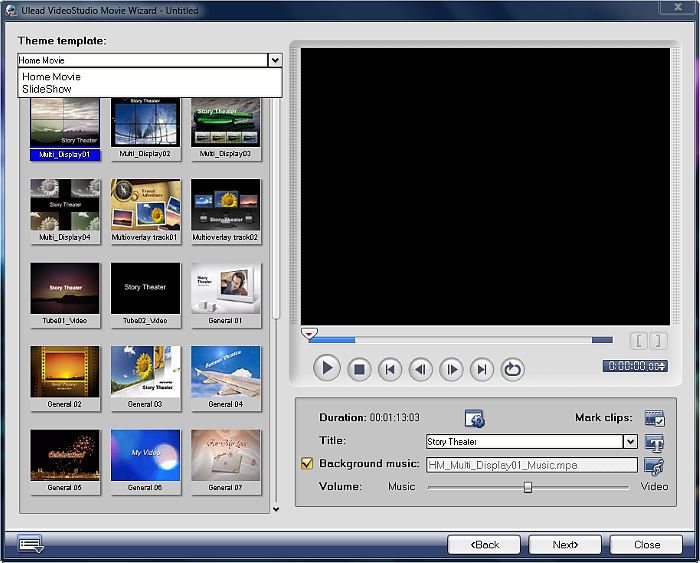 Review of corel videostudio pro x7 video at heart for Free corel video studio templates