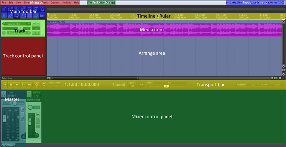 How to make a video soundtrack in Reaper | Video at heart